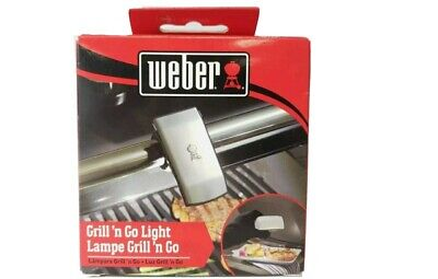 $ CDN44.20 • Buy Weber Grill 'n Go Light Outdoor BBQ Grilling Cooking LED Motion Sensor Activated