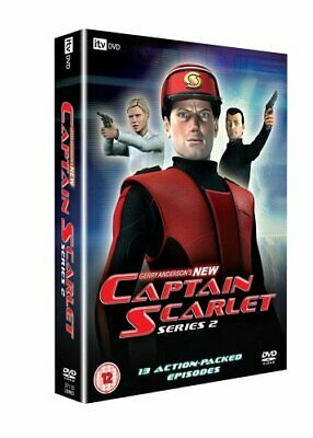 Captain Scarlet - Gerry Anderson's New Captain Scarlet: Complete ... - DVD  BEVG • 15.33£