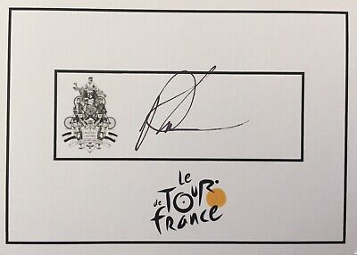 £61.82 • Buy Phil Anderson SIGNED Tour De France Cycling Card. Yellow Jersey. UCI. Sagan.