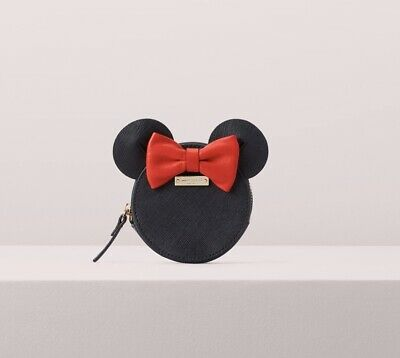 $ CDN75.30 • Buy Kate Spade Coin Purse Disney For Minnie Mouse Leather Rare Ltd Edition New