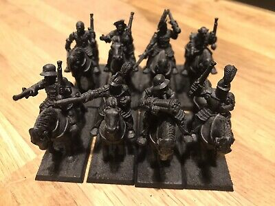 GW Warhammer Citadel 8 Empire Imperial Pistoliers With Plastic Horses 1992 • 40£