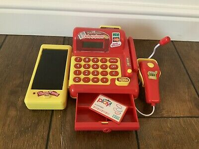 Toy Cash Register/till With Beeping Scanner And Moving Conveyor Belt • 8.70£
