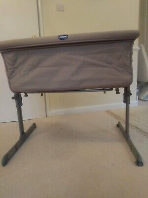 Cot Baby Cot Chicco Bedside Cot Sleeper Crib Bed • 20£