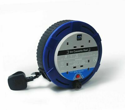 £19.32 • Buy Masterplug Cable Reel 10 Amp 5m [SCT0510/4BL-MP]