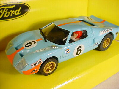Scalextric SCX Vintage Ford GT 40 Le Mans MB 83940 • 12£