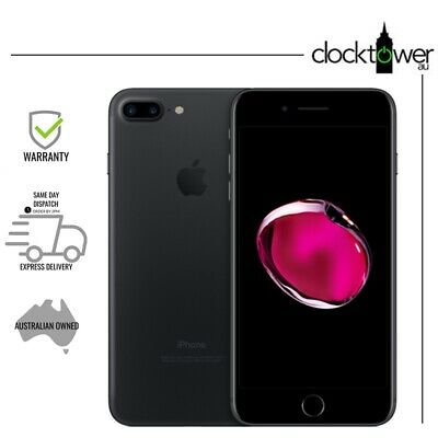 AU429 • Buy Apple IPhone 7 Plus 256GB Black A1784 Unlocked Great Condition New Battery 100%