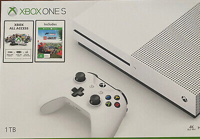 AU429 • Buy XBOX One S 1TB Brand New In Box With Xbox All Access And Lego Speed Game