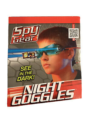 Spy Gear Brand Night Goggles Adjustable Head Strap 2 LED Lights See In The Dark • 18.09£