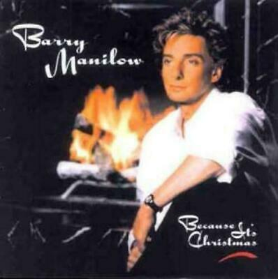 Barry Manilow - Because Its Christmas (CD Album) • 0.50£