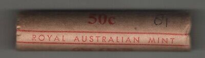 AU10 • Buy 1981 X 1 Cent RAM Mint Roll As Minted