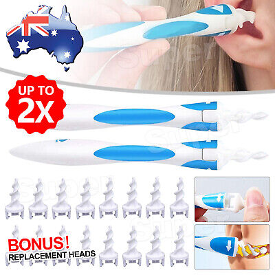 AU9.95 • Buy AU 2x Ear Wax Removal Remover Tool Ear Cleaner Q-Grips Pick Swab Handle 32 Tips