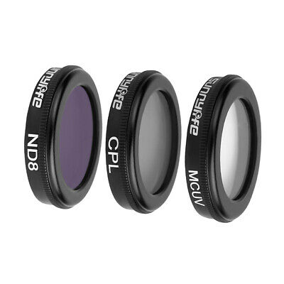 AU30.48 • Buy 3-Pack (ND8 MCUV CPL) Filters Set Compatible For DJI Mavic 2 Pro And