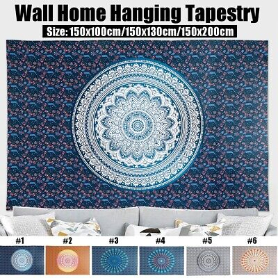 Indian Tapestry Wall Home Room Art Hanging Mandala Hippie Tapestry Bedspread  • 9.01£