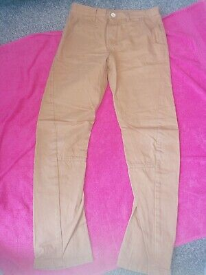 Boys Twisted Age 12-13 Mustard Chinos, Jeans Vgc • 1.50£