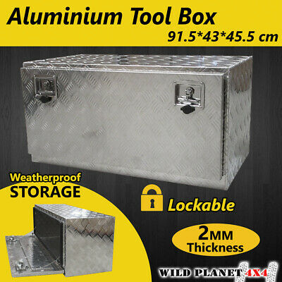 AU219.94 • Buy Aluminium Tool Box Large Tool Storage W Lock UTE Trailer Truck Heavy Duty Vehicl