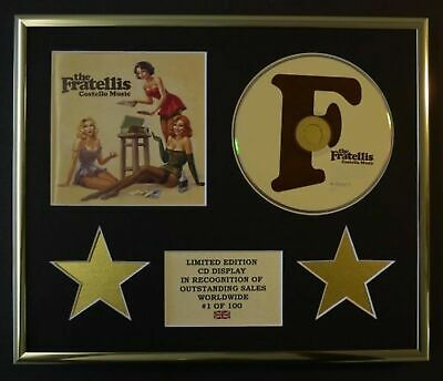 The Fratellis/cd Display/limited Edition/coa/costello Music • 79.99£
