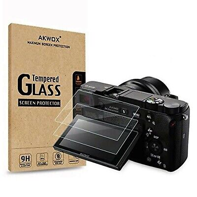 $ CDN44.80 • Buy (Pack Of 3) Tempered Glass Screen Protector For Sony DSLR Alpha A6000 A6300 A...
