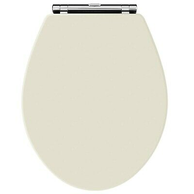Old London NLS399 Natural Walnut Chancery Toilet Seat, Ivory • 104.99£