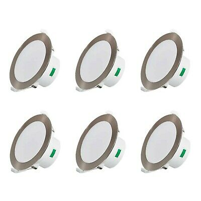 £75.99 • Buy 6 X 12W Led Downlights Kit 90mm Cutout Dimmable Recessed Ceiling Lights Ceili...