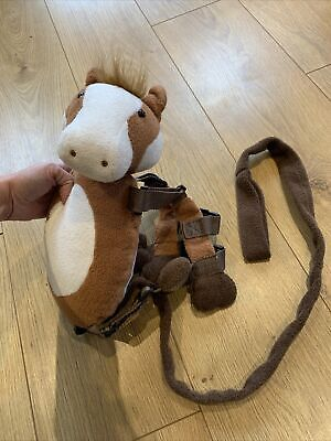 2 In 1 Harness Buddy Backpack Baby Toddler Walking Harness With Reins Pony  • 5£