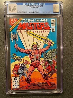 $137.42 • Buy MASTERS OF THE UNIVERSE No.1 (He-Man,Skeletor 1st Full Comic Appearance) CGC 6.5