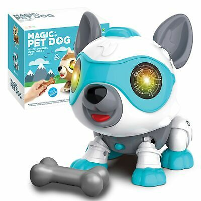 Aovowog Robot Dog Toys For Kids,Smart Puppy Electronic Pet Dog Animals Toys I... • 41.99£