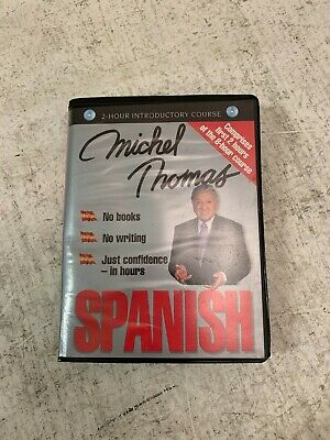 Michel Thomas Learn Spanish USED Good Condition (T2)(L) • 5£