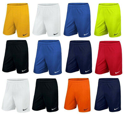 £13.49 • Buy Nike Shorts Football Training Gym Sport Dri Fit Park Size Youth And Adult