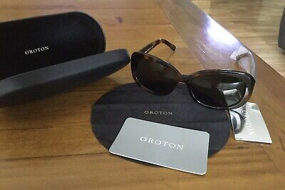 AU69.95 • Buy OROTON Journey Polarised Tortoishell Sunglasses In Hard Case BRAND NEW WITH TAGS