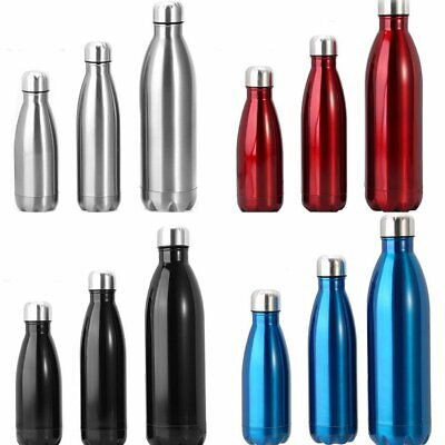 AU22.99 • Buy 1L Stainless Steel Vacuum Insulated Water Bottle Flask Thermos Double Wall Cup