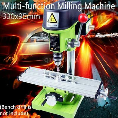 $69.82 • Buy Mini Precision Milling Machine Bench Drill Vise Fixture XY 2-Axis Working Table
