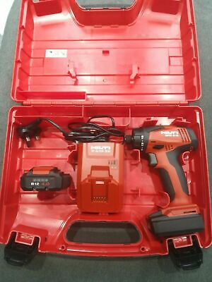£350 • Buy Hilti SFD 2-A Cordless Screwdriver With 2x Batteries 4.0 Ah And Charger