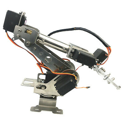 AU152.30 • Buy 6DOF Mechanical Robot Arm Claw With Servos For Robotics  DIY Learning
