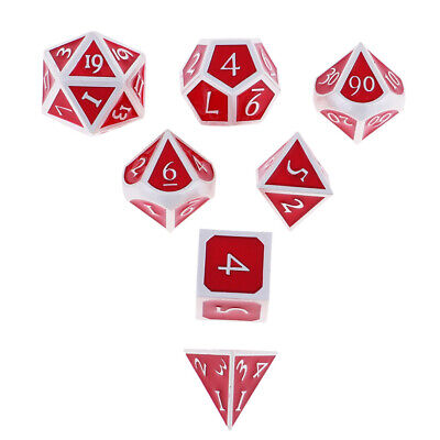 AU24.18 • Buy Set Of 7Pcs  DND RPG MTG Table Game Polyhedral Dice Set