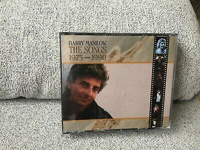 Barry Manilow The Songs 1975-1990 2 Cds Best Of • 0.99£