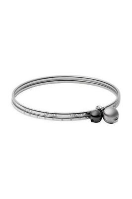 New! DKNY Women's Right Arm Stainless Steel Silver NJ1558040 • 107.85£