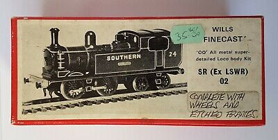 Wills Finecast Southern Railway (Ex LSWR) 02 Class Locomotive Kit, 00 Gauge • 20£