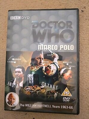 Doctor Who William Hartnell Marco Polo Custom Recon Dvd Case & Free Extras • 5.49£