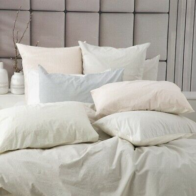 $ CDN85.59 • Buy Renee Taylor Portifino Yarn Dyed Vintage Washed Cotton Quilt Cover Set