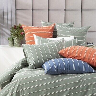 $ CDN95.10 • Buy Renee Taylor Hudson Vintage Washed Cotton Chenille Quilt Cover Set