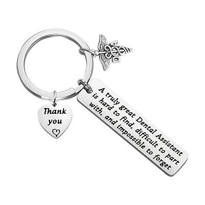 £30.99 • Buy Dental Assistant Gift A Truly Great Dental Assistant Is Hard To Find Keychain...