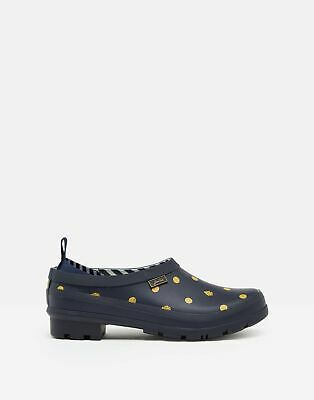 Joules Womens Slip On Welly Clogs - Navy Ladybird - Adult 8 • 16.75£