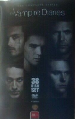 AU59.95 • Buy The Vampire Diaries TV Series DVD Complete Collection Set Season 1 2 3 4 5 6 7 8