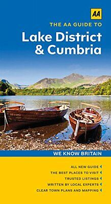 The AA Guide To Lake District & Cumbria By Moira McCrossan Book The Cheap Fast • 5.99£