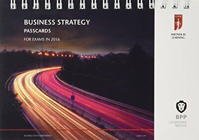 ICAEW Business Strategy: Passcards By BPP Learning Media Book The Cheap Fast • 15.99£