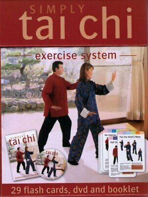 Simply Tai Chi (Exercise System) DVD (Includes Cards And Booklet) Book The Cheap • 7.99£