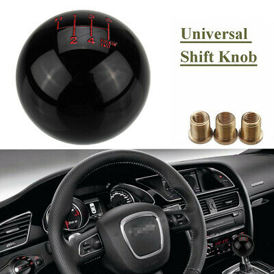 AU19.59 • Buy Universal 6 Speed Manual Round Ball Gear Shift Knob Shifter Reverse Left Up AU