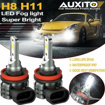 AU31.99 • Buy AUXITO H11 H8 H16 LED Fog Light Bulb Car Driving Lamp DRL 6500K HID White 4000LM