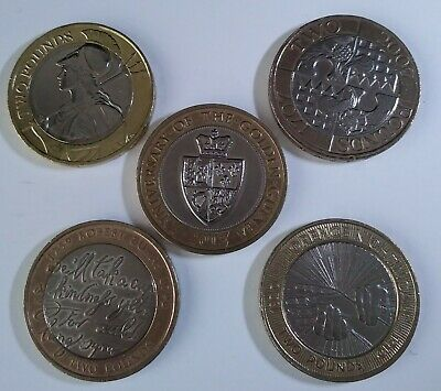 2 Pound Coin Job Lot. These Coins Are The Actual Ones I Will Send You. • 18£