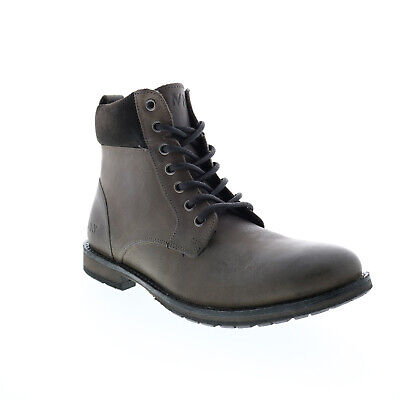 $24.99 • Buy Andrew Marc Kent NYKENTWG-0388 Mens Gray Leather Casual Dress Boots